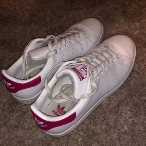 Pink Adidas Stan Smith